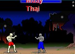 arts martiaux, muay thai, combat