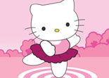 Hello Kitty, habillage, mode, fille