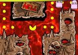 Pacman, pac-gomme, enfer, fantôme