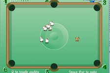 Sheep Pool Starring Frisbee Dog