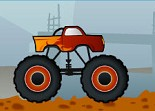 chantier, 4X4, voiture, monster truck
