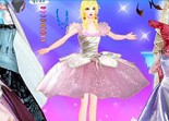 Barbie, habillage, princesse, fashion