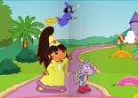 Dora, sorcière, conte de fée