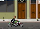 moto, Obama, Londres, 2 roues, bécane