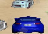 voiture, Ferrari, Honda, rallye, course, 3D