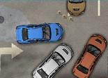 parking, voiture, créneau, stationnement