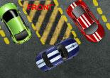 stationnement, voiture, parking