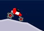 course, voiture spatiale
