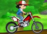 Sacha, moto trial, motard, bécane