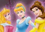 coloriage, princesse, Disney, Aurore, Cendrillon, Belle