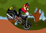 Mario, moto, bécane, plombier, héros