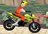 Naruto, course, moto enduro, 2 roues, héros