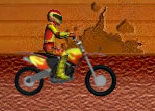 moto cross, cascadeur, saut