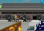 cascadeur, moto cross, saut