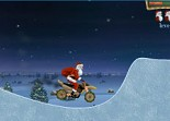 Père Noël, moto à 4 roues, moto cross, quad, cadeaux, Santa, 2 roues, bécane