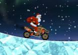 Père Noël, moto cross, quad, cadeaux, Santa, 2 roue, bécane, moto à 4 roues