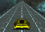 autoroute, voiture, course poursuite, bolide