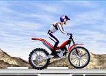 moto de trial, bécane, 2 roues, motard