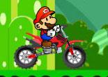 Mario, grosse cylindrée, moto, nintendo, bécane