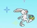 animaux, lapin, oeuf de Pâques