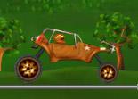 buggy, conduite, automobile, tout terrain, voiture