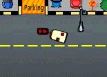 parking de voiture, stationnement, voiture