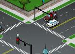 gestion de temps, circulation routière, voiture, trafic routier, feux rouge
