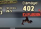 moto de trial, bâtons de dynamite, explosif