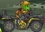 bécane de cross, motocross, ATV, quad, moto à 4 roues, zombies, mort vivants, âme damnées, 2 roues
