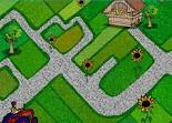 ferme, tracteur, tournesol, tractor