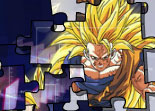 Sangoku, Dragon Ball Z, guerrier, puzzle