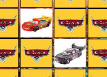 mémoire, Cars, cartes, paires, Flash McQueen