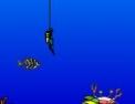 plongée, jeu marin, coffre au trésor, coordination, bateau