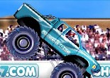monster truck, automobile, voiture, tout terrain