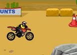 cascades en moto, super cross, bécane, 2 roues