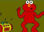 danse, Elmo, Sésame Street