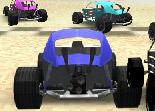 course, buggy, voiture, tout terrain, 3D