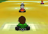Ben 10, kart, course, karting, voiture