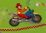 moto, cirque, bécane, 2 roues