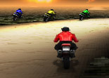 moto, course, bécane, 2 roues, course, 3D
