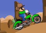 Luigi, Mario, moto, motocross, bécane, 2 roues