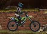 moto, bécane, 2 roues, trial
