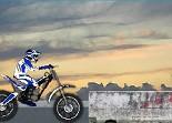 moto, trial, bécane, 2 roues