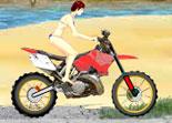 moto, cross, bécane, 2 roues, motocross, cascade en moto