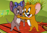 Tom et Jerry, kiss, bisou