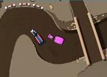 course de caravane, voiture, circuit
