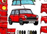 Mini Cooper, personnalisation automobile, customisation, voiture