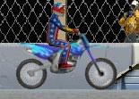 cascades en moto, motocross, saut, 2 roues, bécane