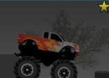 monster truck, voiture, tout terrain