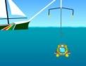 sous-marin, bathyscaphe, pilotage, mer, fond marin